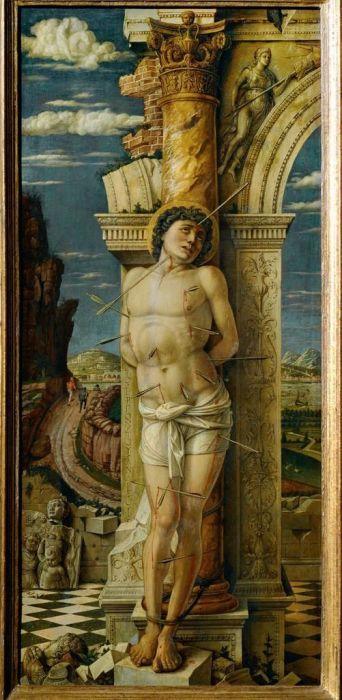 Андреа Мантенья: Сент-Себастьян (1456-59)