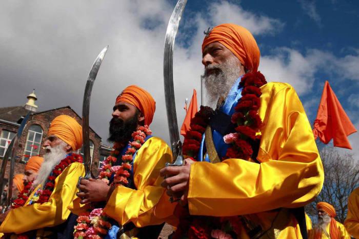 Сикхи - древние воины, которые и сегодня в строю.