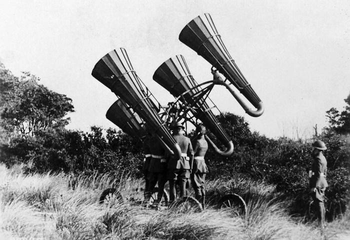 Технологии первой мировой.