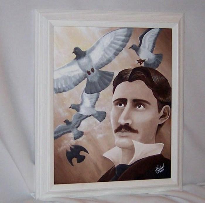 Никола Тесла и голуби.
