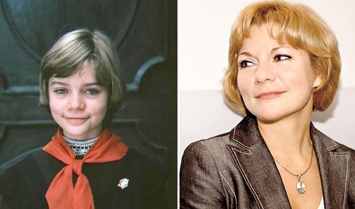 Наталья Гусева, известная по роли девочки из будущего Алисы Селезнёвой.