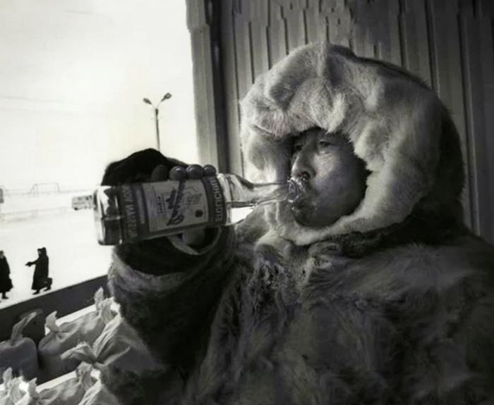 Для северных народов употребление алкоголя чревато необратимыми последствиями.