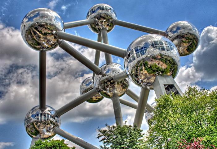 Здание символизирует прорыв человечества в науке.