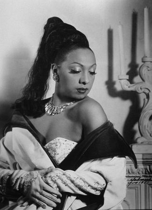 Жозефина Бейкер. Гавана, Куба. 1950