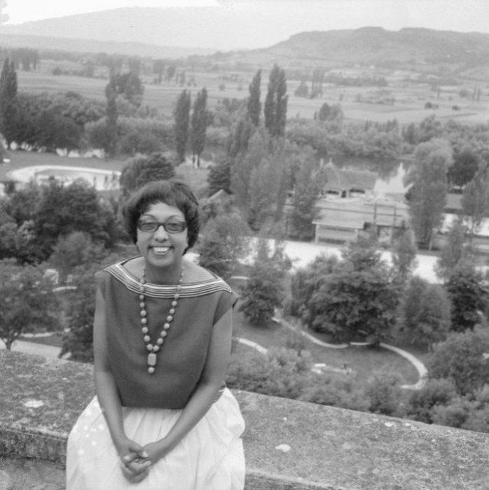Бейкер в замке Шато де Миланд, 1961