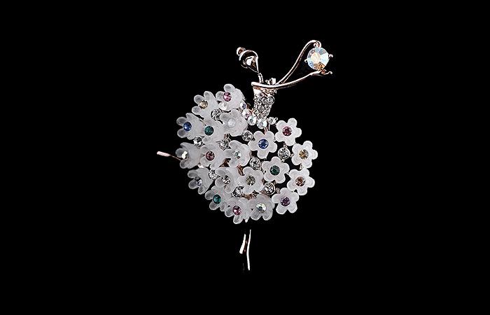 Знаменитые драгоценные броши-балерины от Van Cleef & Arpels.