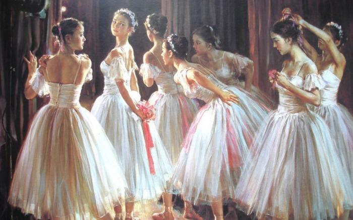 Ох, уж эти балерины!