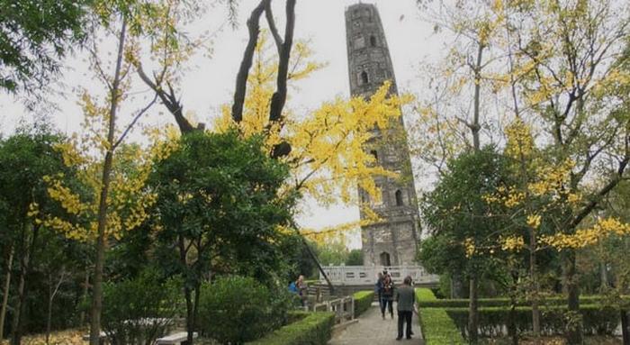 Пагода Хужу. Шанхай, Китай.