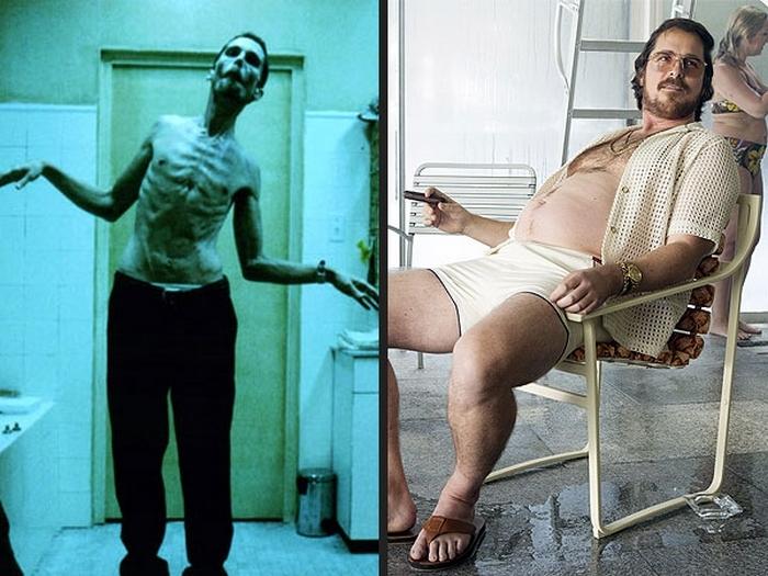 Кристиан Бейл за время своей карьеры не раз глубоко погружался в роль, значительно меняя свою внешность.