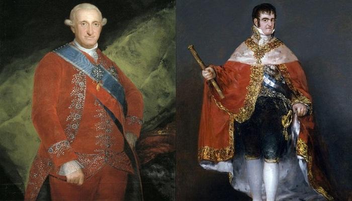 Карл IV и Фердинанд VII.