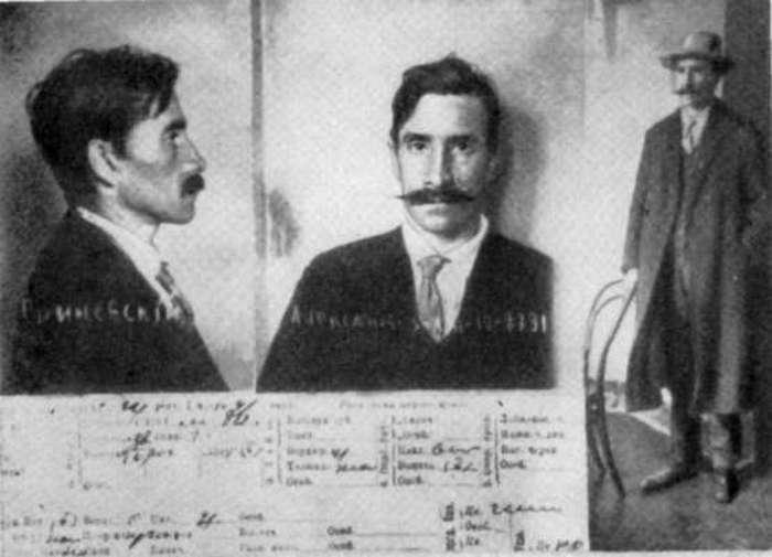 Александр Грин. Фото из архивов полицейского участка.