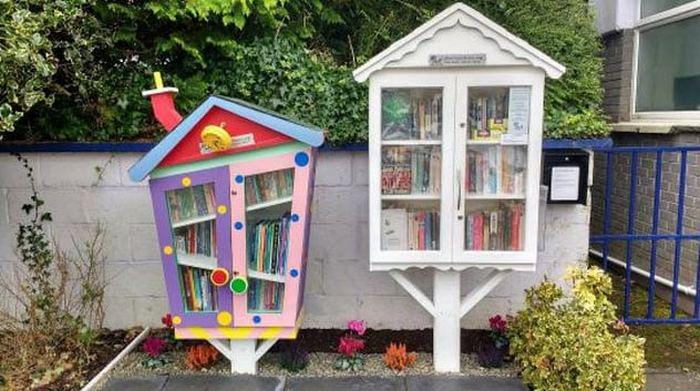 Маленькие бесплатные библиотеки.