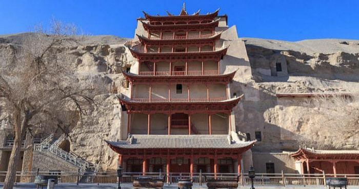 Пещерные библиотеки в Китае