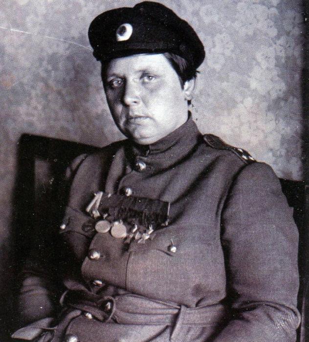 Мария Бочкарева с наградами.