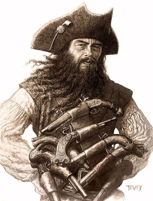 Стид Боннет - джентельмен пиратов.