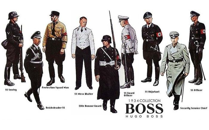 Модная коллекция от Hugo Boss.