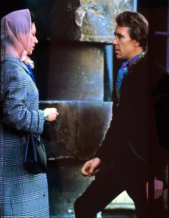 Принцесса Маргарет с первым супругом.