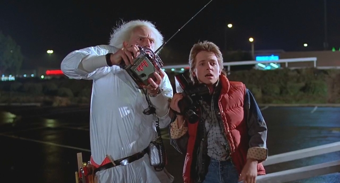 Кадр из фильма «Назад в будущее (1985)