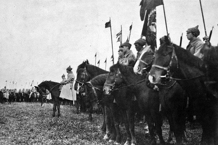 Бойцы Первой конной армии Семена Буденного. / Фото: odkrywca.pl