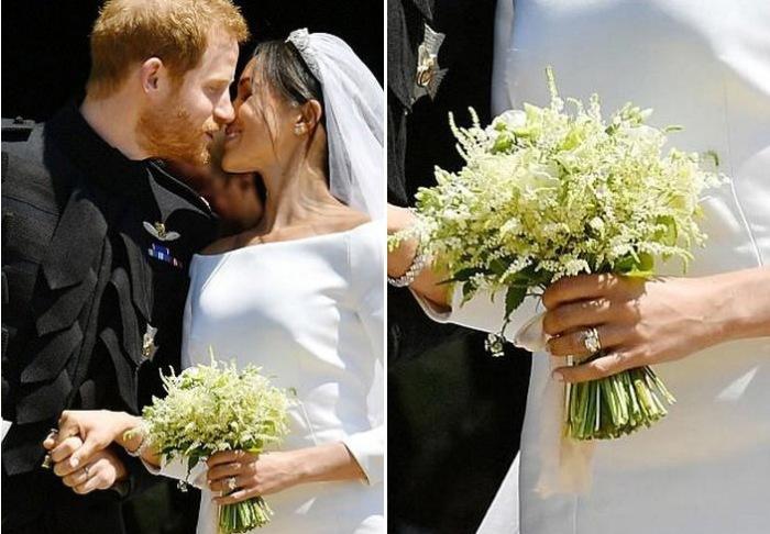 Всё о свадебном букете Меган Маркл.