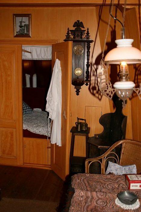Голландская кровать.