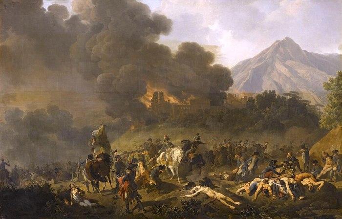 Бонапарт во время итальянской кампании в 1797 году