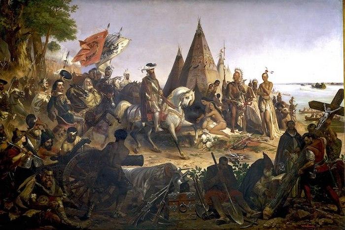 Как туземцы забыли свой язык и религию, а испанцы баснословно обогатились