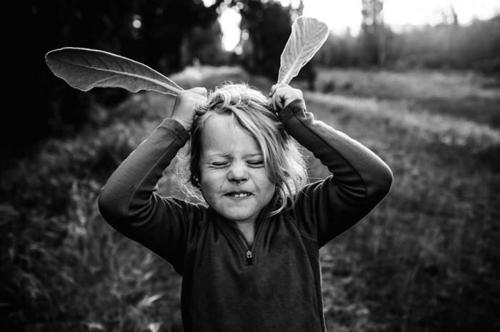 Черно-белое и такое яркое детство.