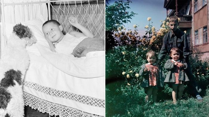 Советские дети на фотографиях 1940-1950 годов Семёна Фридлянда.