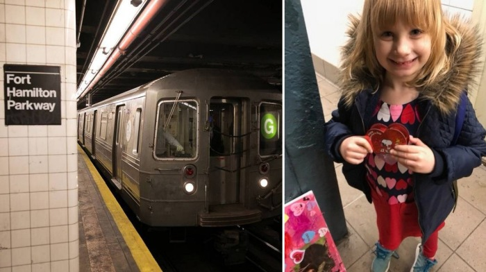 5-летняя девочка каждое утро махала машинистам метро.