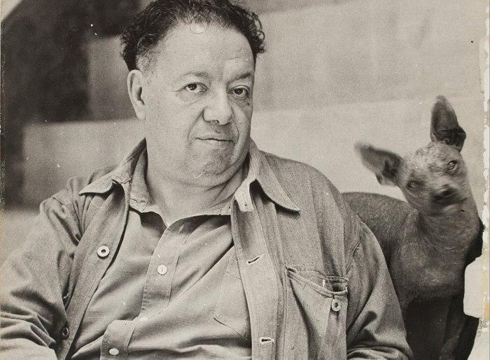 Диего Ривера - великий художник-муралист, который вошёл в историю, как мачо и муж Фриды