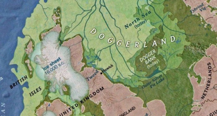 Доггерленд -  часть Европы, затонувшая во время прошлого глобального потепления.