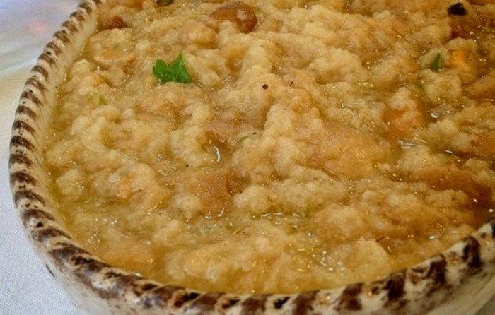 Аквакотта - любимая еда итальянских простолюдинов.