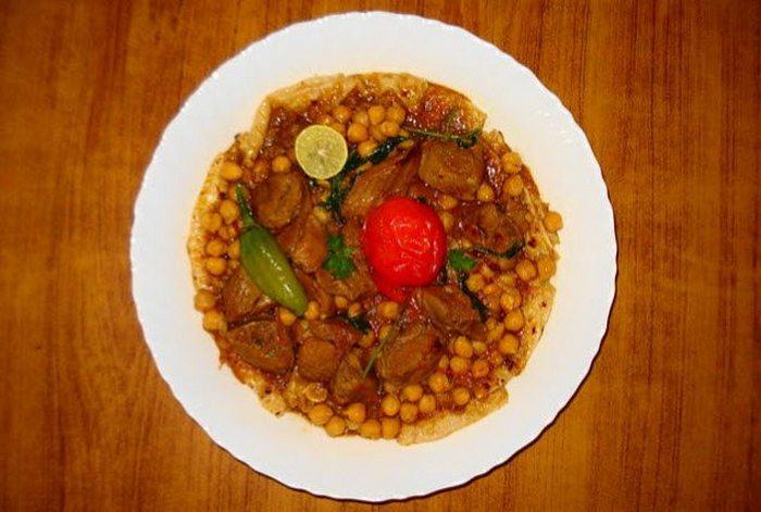 Арабский суп тарида.