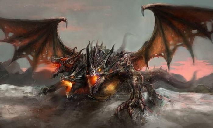Поля драконьих костей.