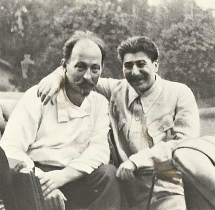 Дзержинский и Сталин.