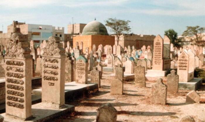 Мусульманское кладбище в Порт-Саиде.