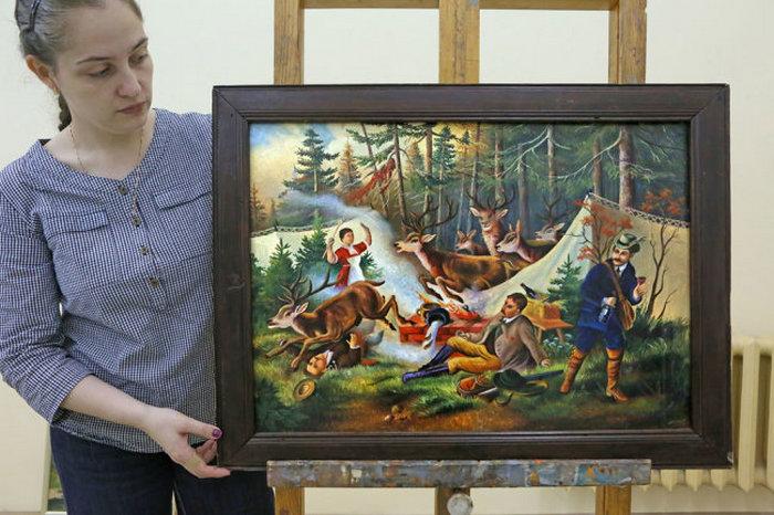 Картина Евсея Якимова.