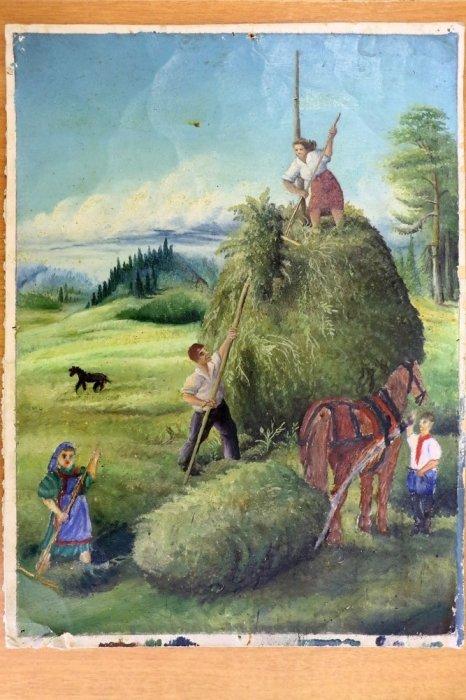 Одна из немногих попавших в музей картин Евсея Якимова.