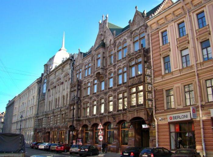 Дом Карла Фаберже в Санкт-Петербурге.