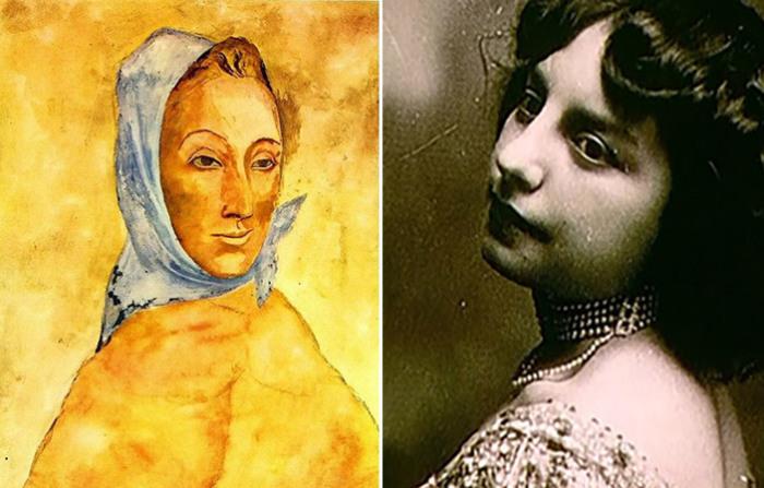 Фернанда Оливье - первая муза и первая любовь Пикассо.