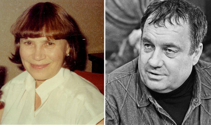 Зоя Фомина и Эльдар Рязанов.