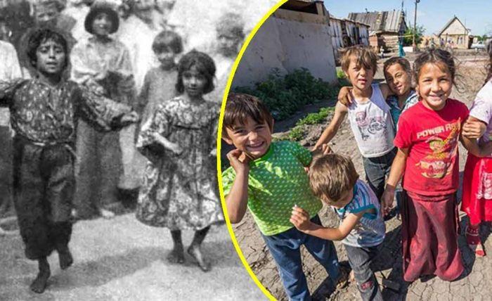 Как и чему учились цыганские дети в СССР.