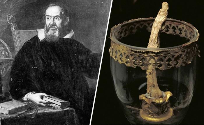 Три пальца и зуб Галилея