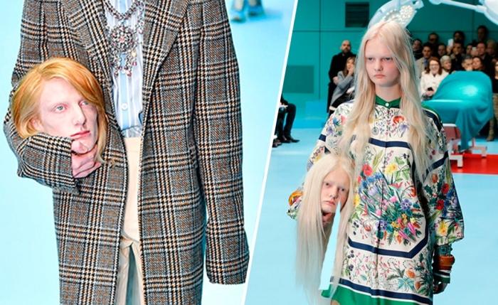 Нашумевший показ мод от Gucci.