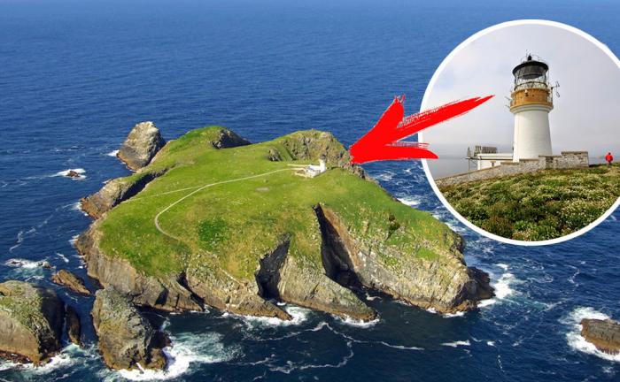 Острова Фланнан с печально знаменитым маяком.