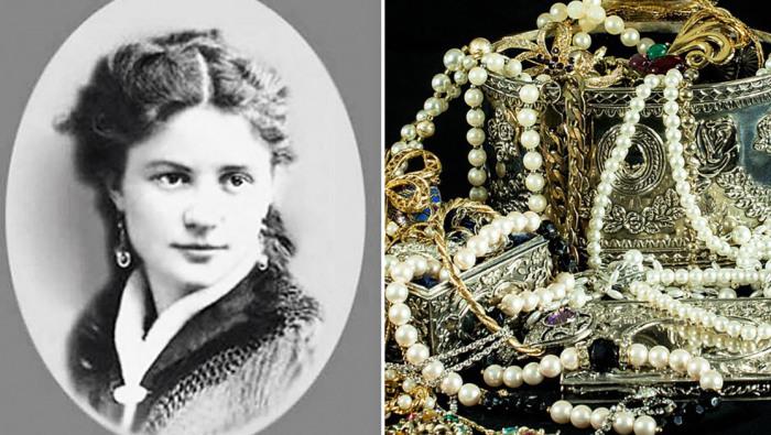 Ольга фон Штейн - дочь ювелира, жена генерала и криминальная наследница Соньки Золотой Ручки.