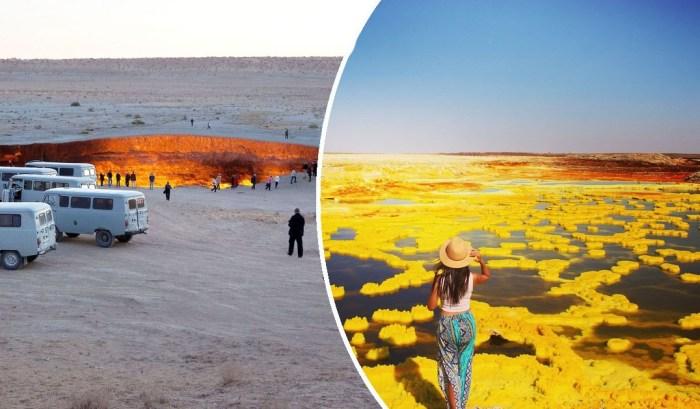 Самые жуткие уголки планеты, которые привлекают туристов.