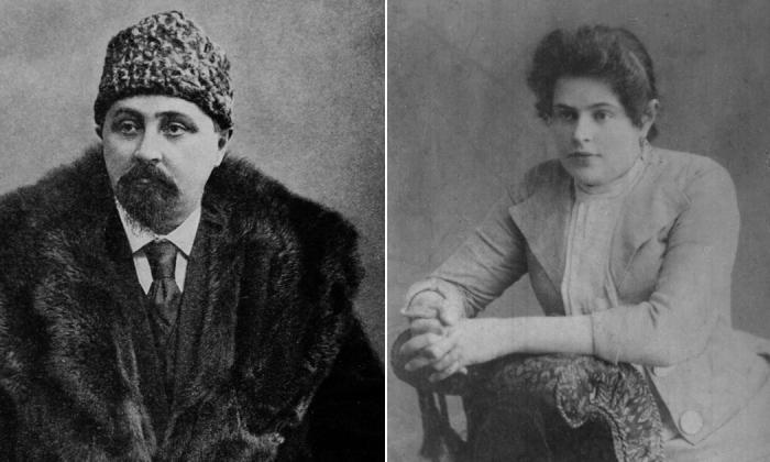 Дмитрий Мамин-Сибиряк и Мария Абрамова.