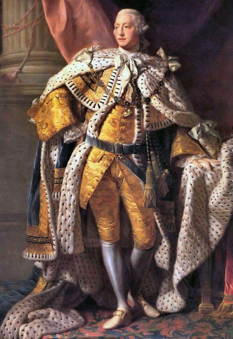 Георг III - британский король, потерявший Америку.